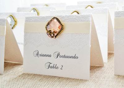 Reception Stationery