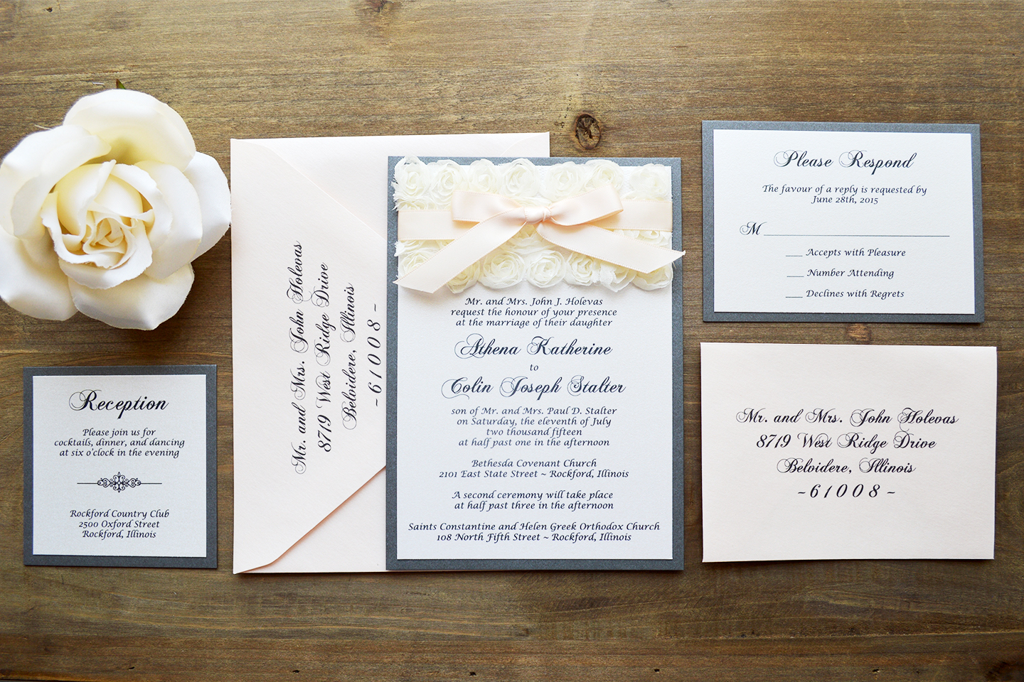 How to Address Wedding Invitation Envelopes | PAPER & LACE