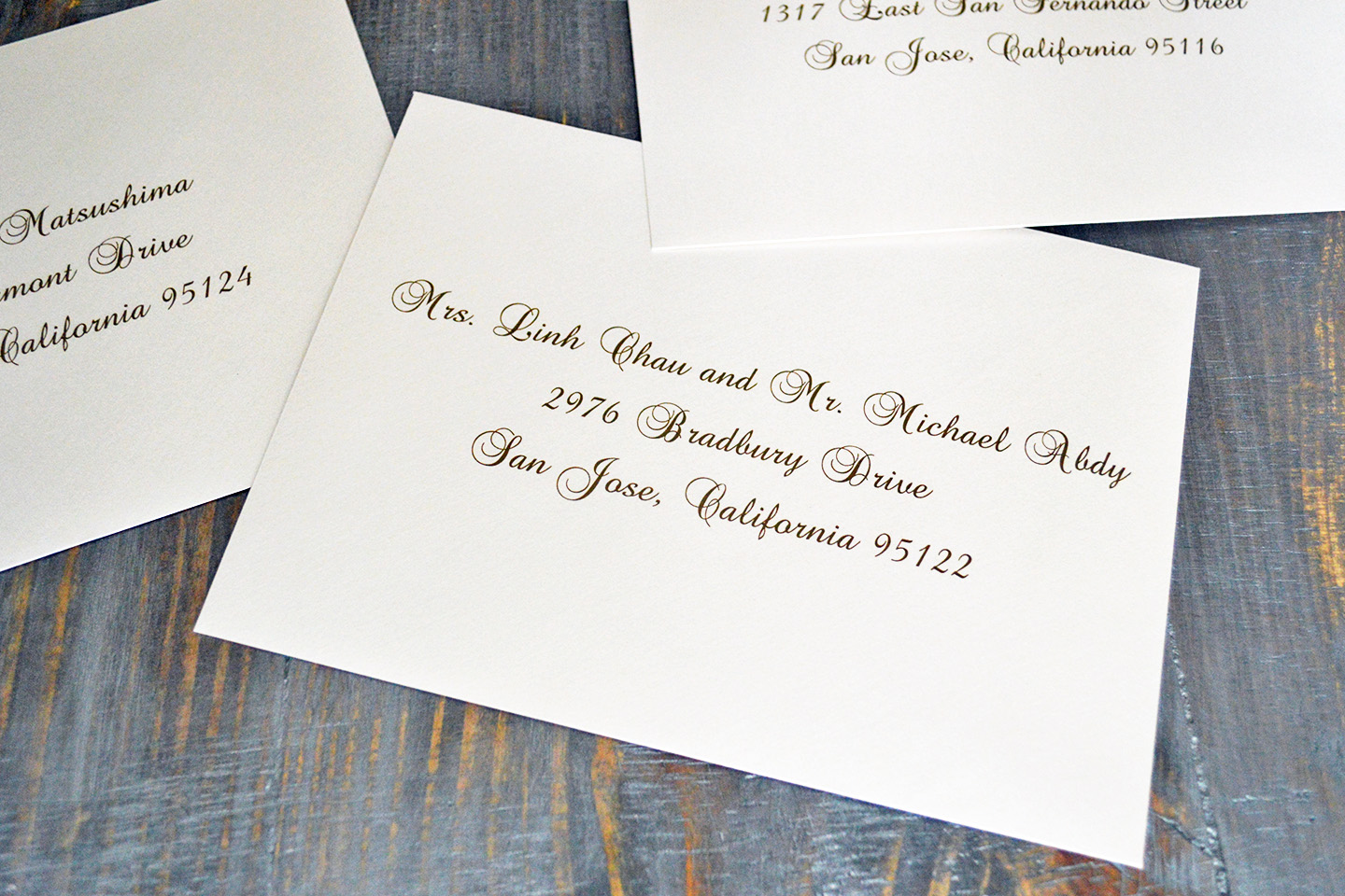How To Write On Envelope For Wedding Invitations: How To Address Wedding Invitation Envelopes