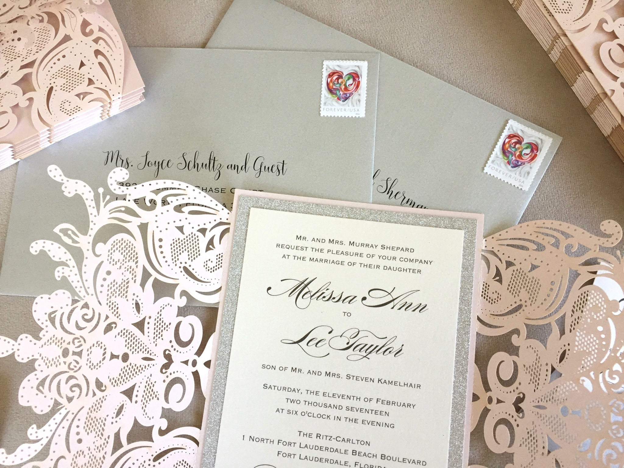 the do s and don ts of mailing your wedding invitations paper lace