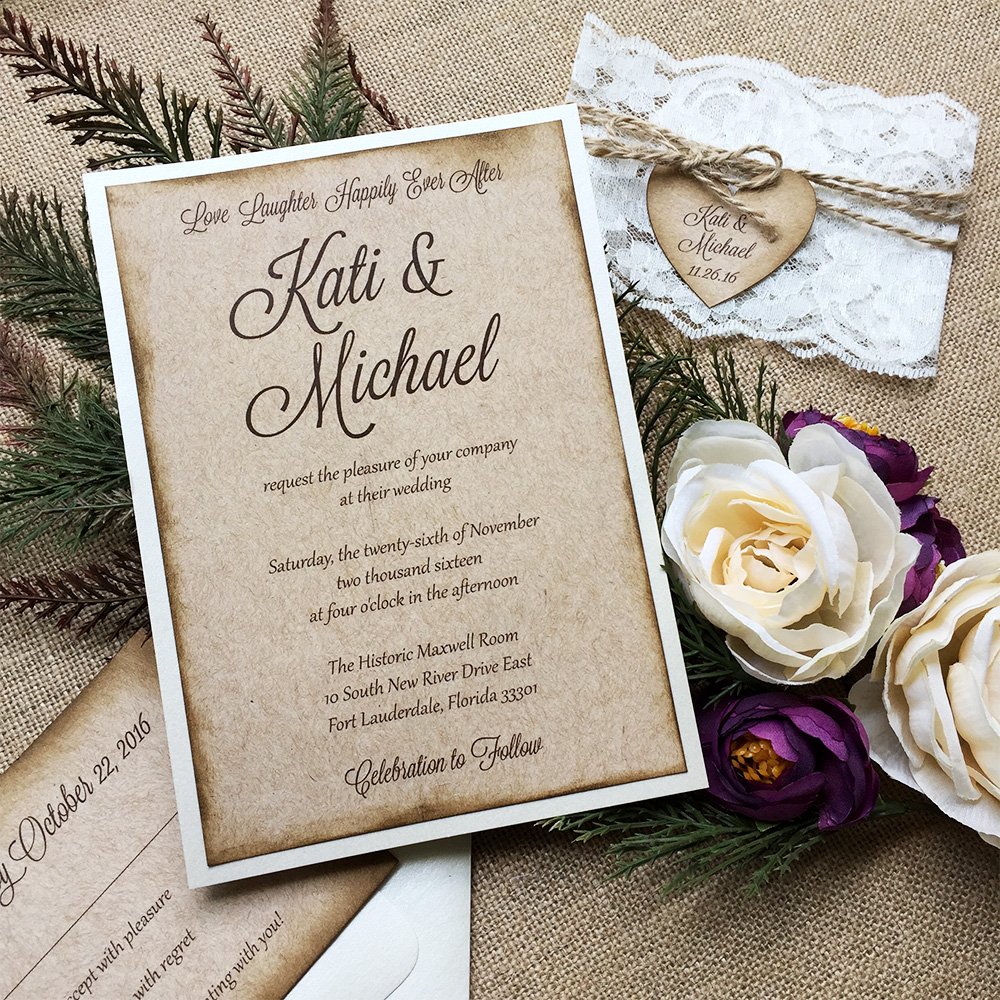 Wedding Invitation Trends for Fall 2017 | PAPER & LACE