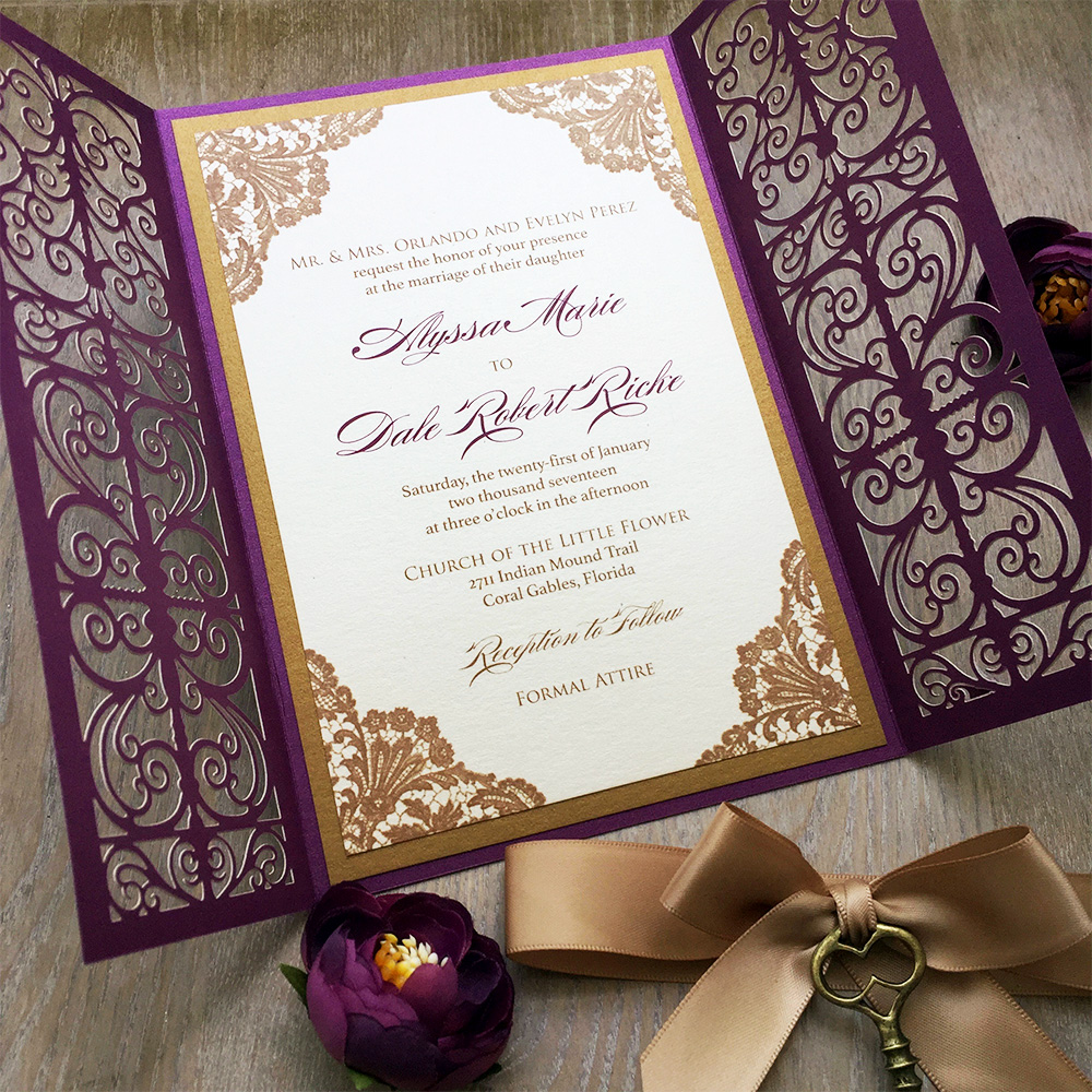 5 Basics To Wording Wedding Invitations Paper Amp Lace