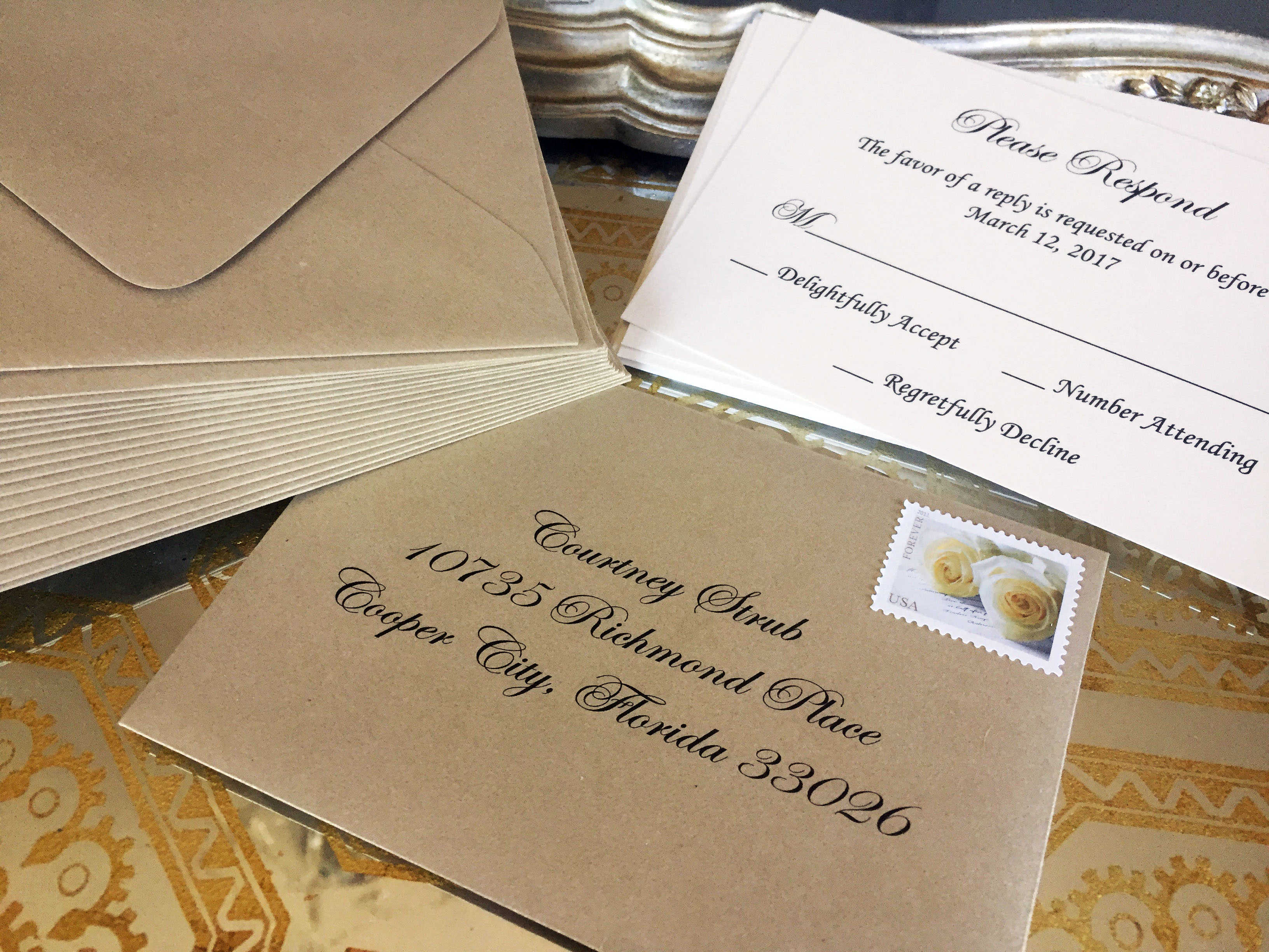 5 Steps To Mailing Wedding Invitations