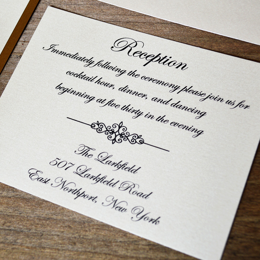 What Insert Cards are Needed with your Wedding Invitations | PAPER ...