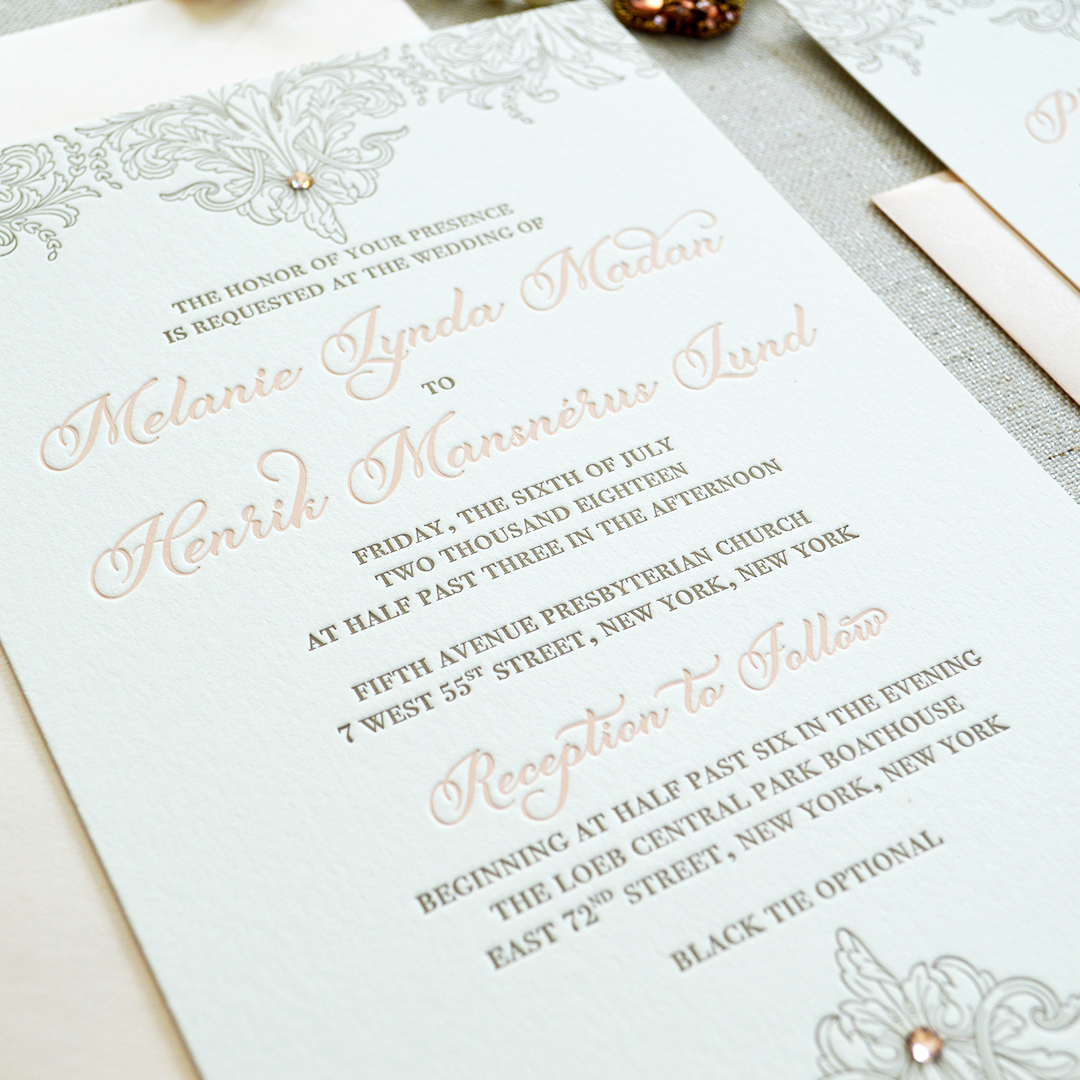 7 Ways to Make Your Wedding Invitations More Lavish | PAPER & LACE