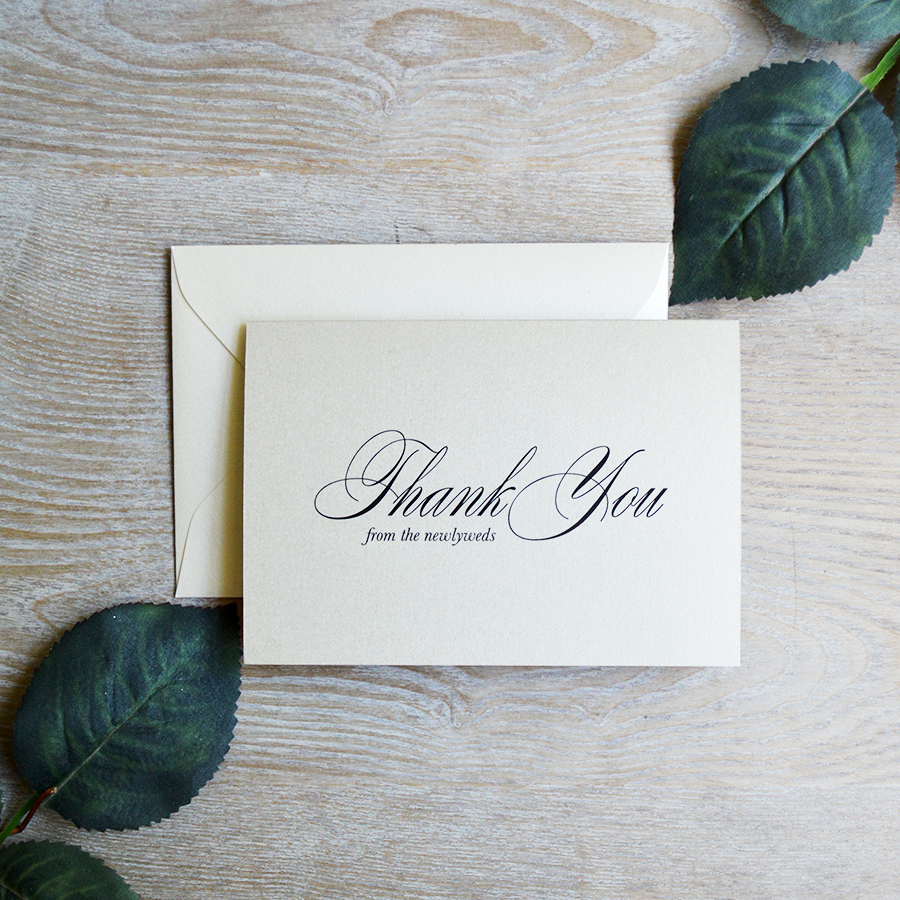 Wedding Thank You Note.How To Write Fool Proof Wedding Thank You Notes Paper Lace